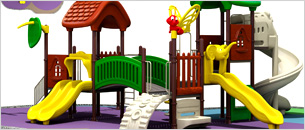 Outdoor MultiPlay Ground Equipment
